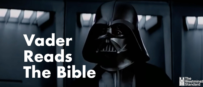 Darth Vader Reads the Bible